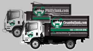 basement and garage cleanout trucks in Montgomery County, Pa